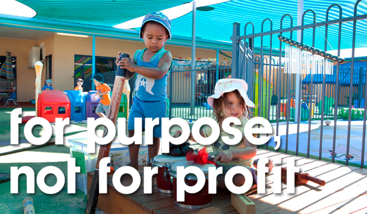 for purpose not for profit